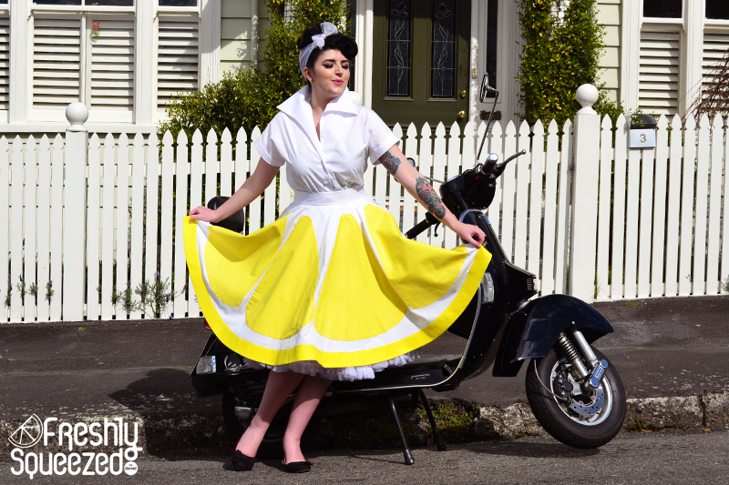 Lemonade Full Skirt | Devel Women