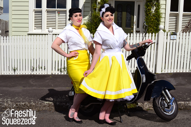 Lemonade Wiggle and Full Skirts | Devel Women