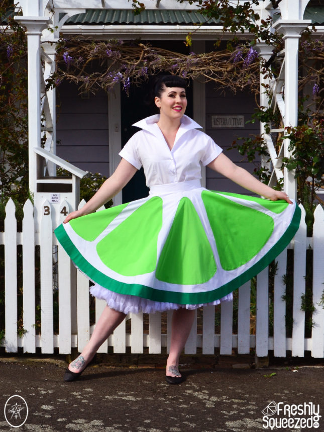 Lime Soda Swing Skirt | Devel Women