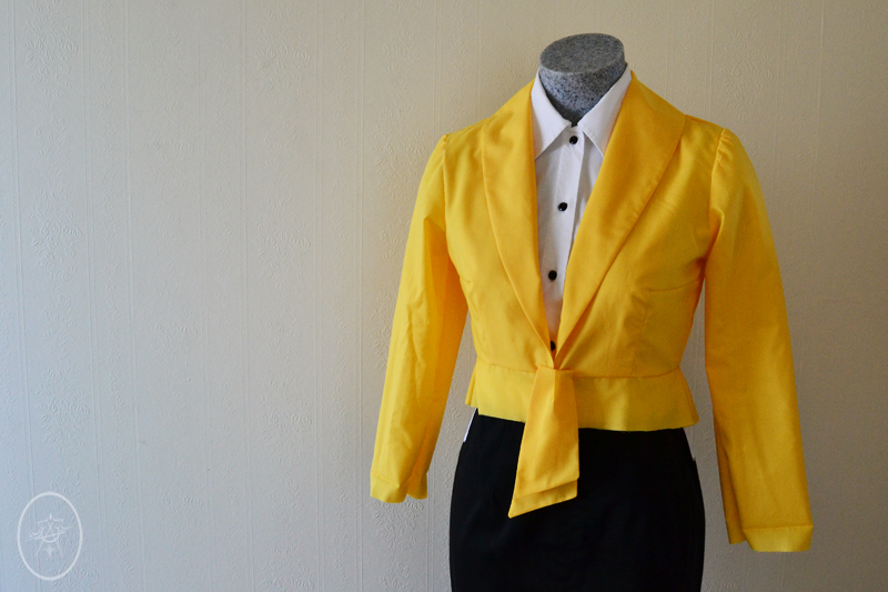 Selfies: Vintage Suit Sew Along