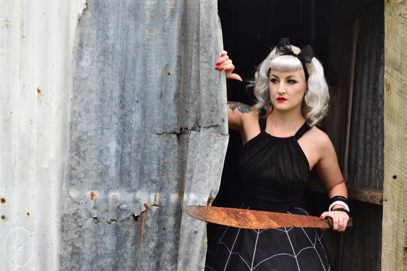 The Black Widow Skirt | Devel Women