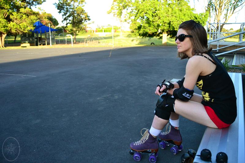 TTW: I Took Rollerskating Outdoors
