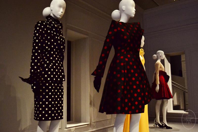 Dior Polka-dot Suit and Dress, at NGV International, Melbourne, Australia