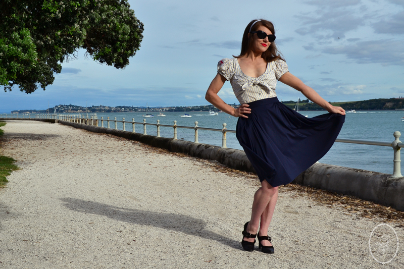 Selfies: The Sherry Swing Skirt