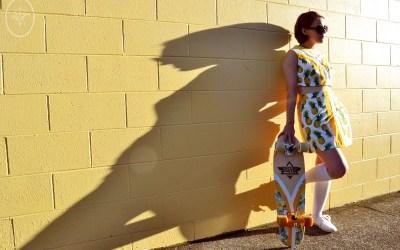 Selfies: Flashback Skater Skirt Set