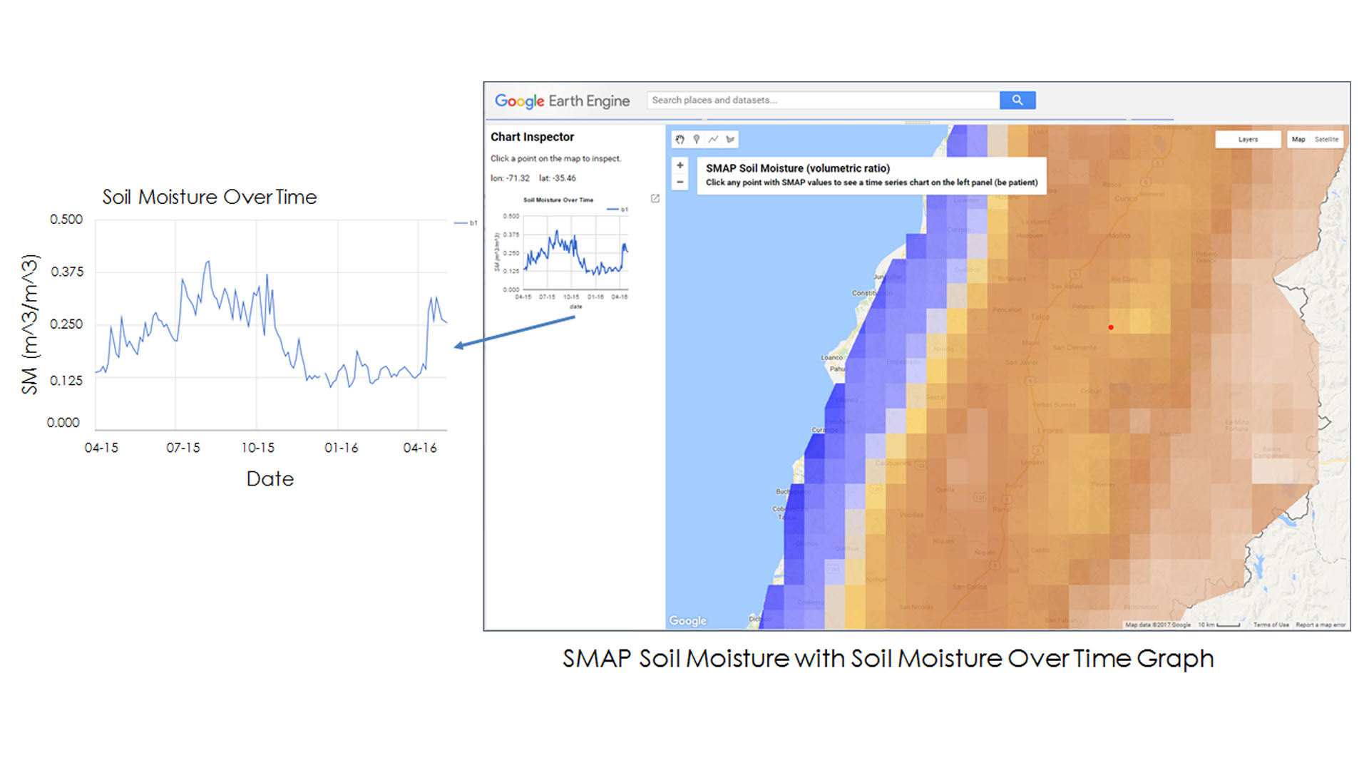 hight resolution of integrating nasa earth observations into the google earth engine platform to enhance drought monitoring in chile