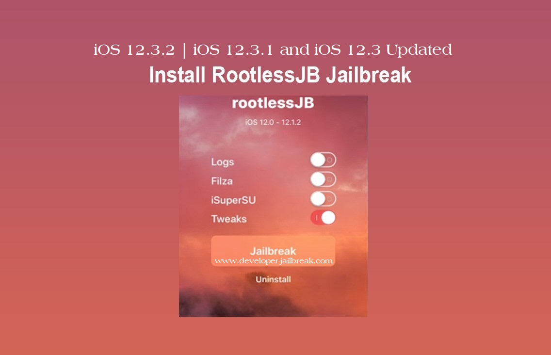 Cydia Tweak install released for Rootless iOS 12 3 jailbreak MAC