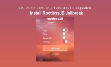 iOS 12.3 Jailbreak