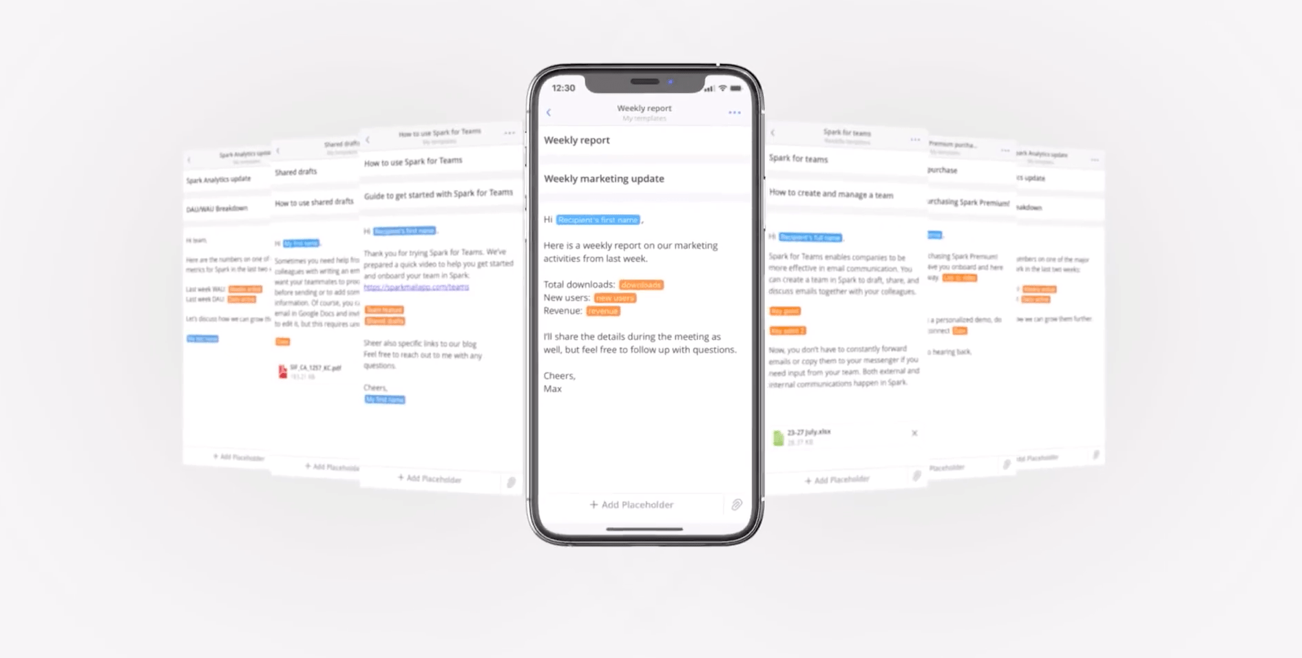 Spark Update Brings New Template Feature to Easily Write