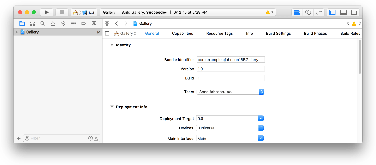 Enabling CloudKit in Your App