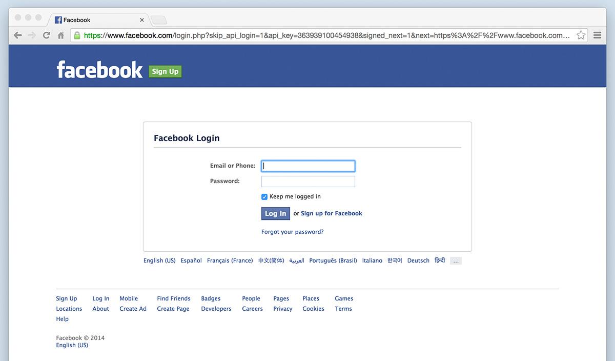 A Sample Student Social Login | DigitalChalk Developer