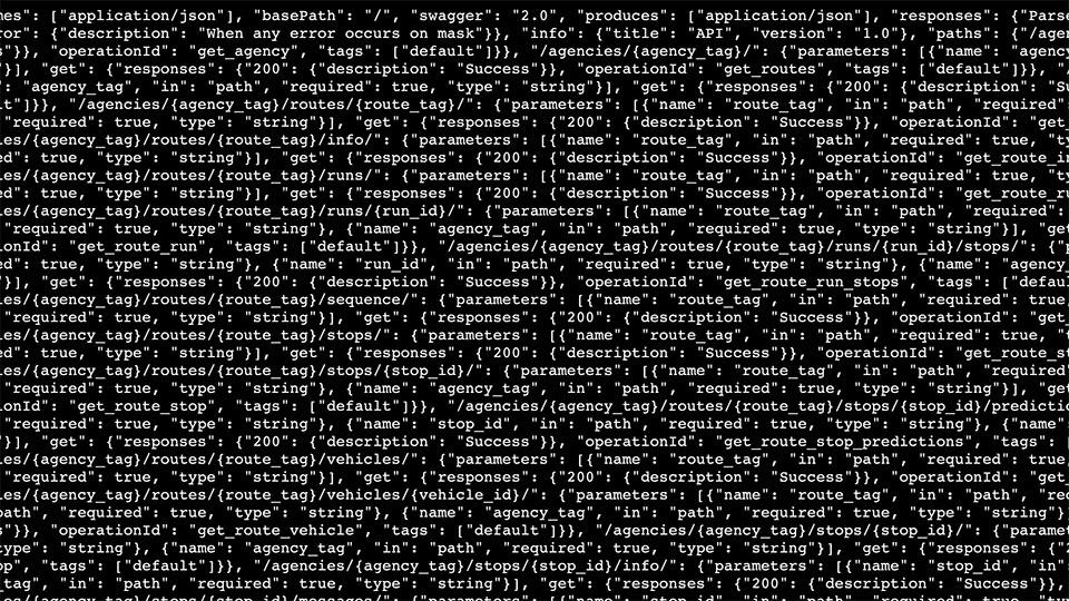 Metro's APIs