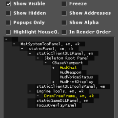 Memory Hierarchy Diagram Auto Wiring Vgui Documentation - Valve Developer Community