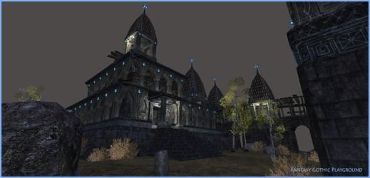 Fantasy Gothic Castle Unity Asset