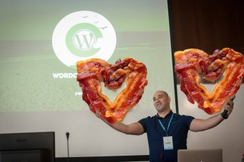 Marin Atanasov at WordCamp Varna 2017