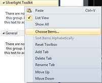 How to add Windows Phone Silverlight Toolkit Controls to Visual Studio 2010 ?