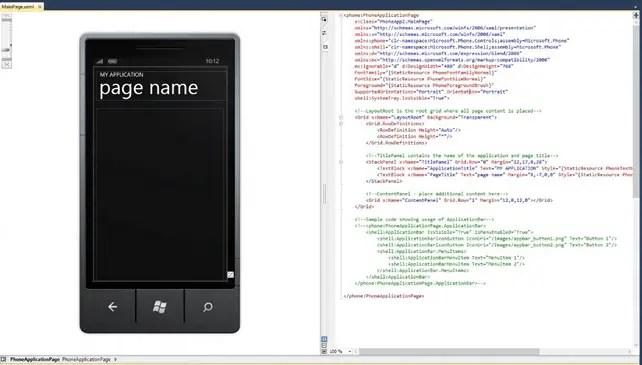 How to change XAML Designer Display to Horizontal in Visual Studio 2010?