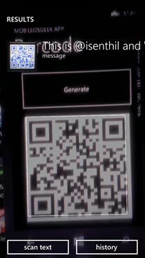 Generating Barcode in your Windows Phone 8 App using ZXing Net Library