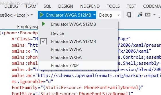 Oxygene and WP8 - Run Windows phone App from Visual Studio