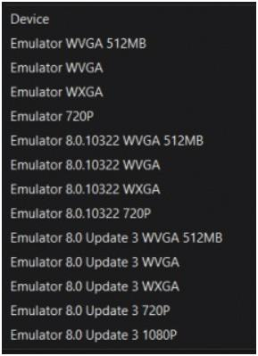 Download - New Windows Phone 8 Emulators (Update 2 and Update 3)
