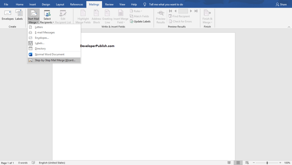 How to Print Labels for your mailing list in Word?