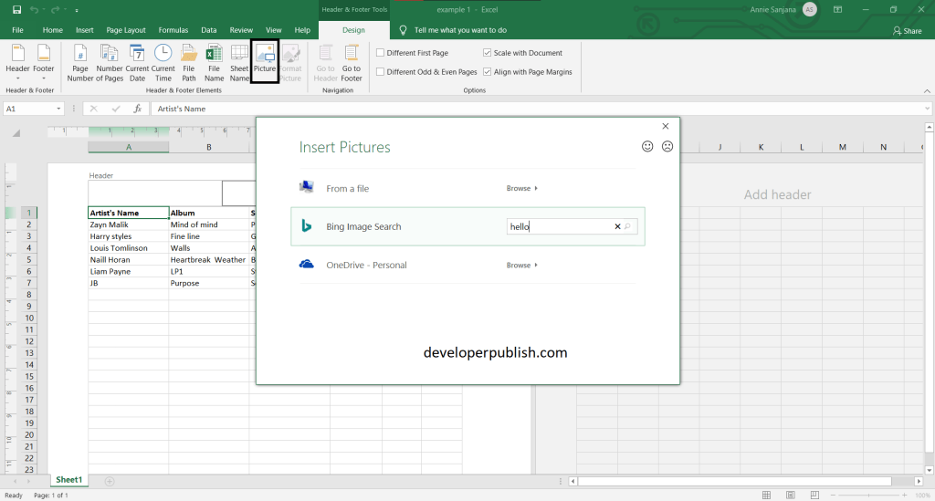 How to Add a Watermark to a Worksheet in Excel?