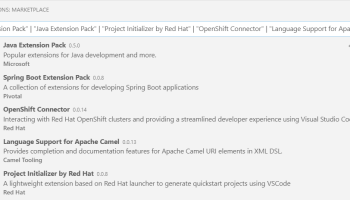 Announcing OpenShift Extension for Visual Studio Code