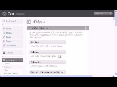 Display widgets wordpress plugin to show your wordpress widgets in a specific page