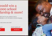 Johnson & Johnson Back to School Scholarship Sweepstakes