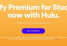 Spotify Premium for Students Now With Hulu
