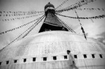 Bodhnath stupa, Kathmandu, Nepal, April 1999