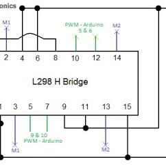 L298 H Bridge Circuit Diagram Basic Ignition System Wiring Manual E Books Simple Diagramsbasic Programmed Robot Rookie Electronics U0026 Robotics