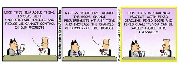 Dilbert Agile