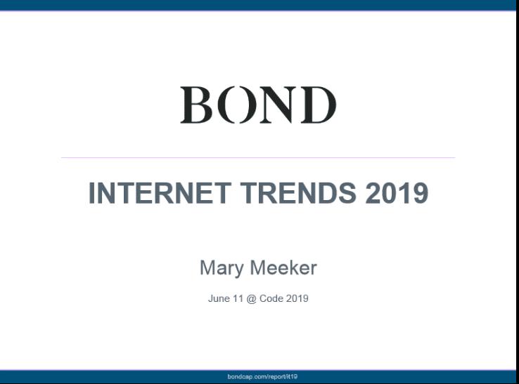 Mary Meeker Internet Trends 2019