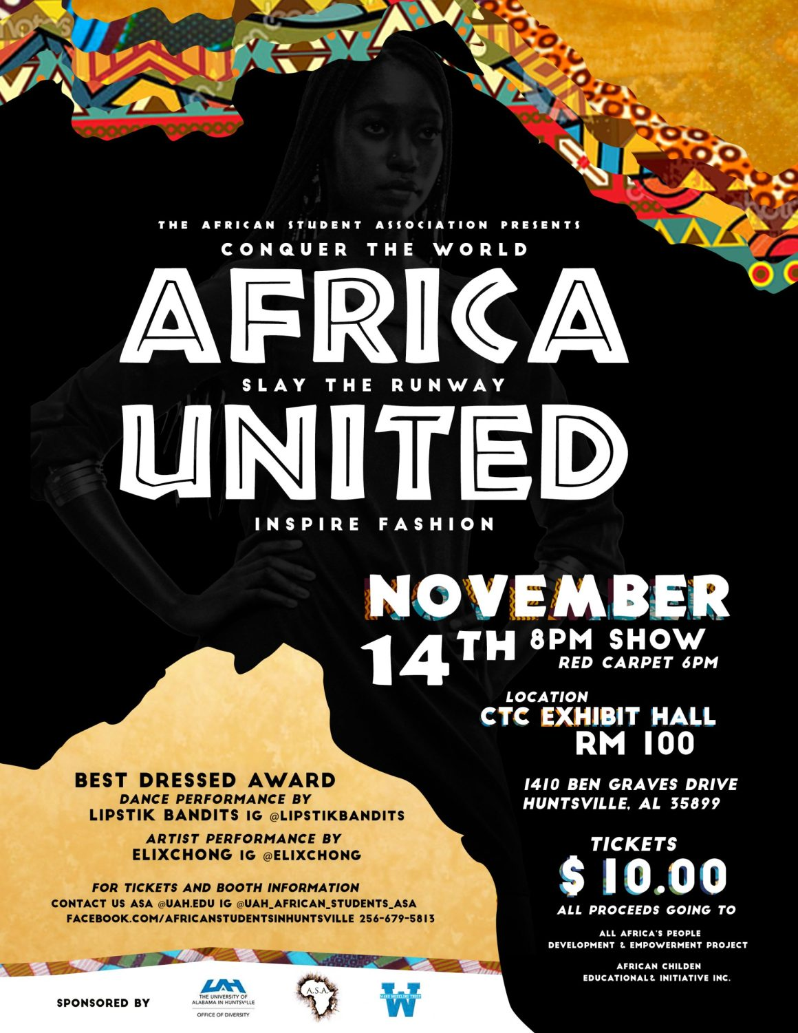 Africa United Fashion Show to Raise Resources for African Development