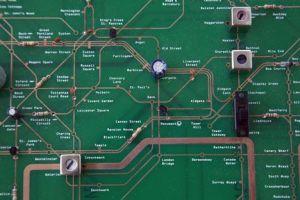 Tube map electronics