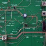 Tube map electronics