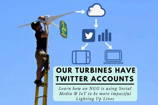 Wind turbines with Twitter accounts - Developpa