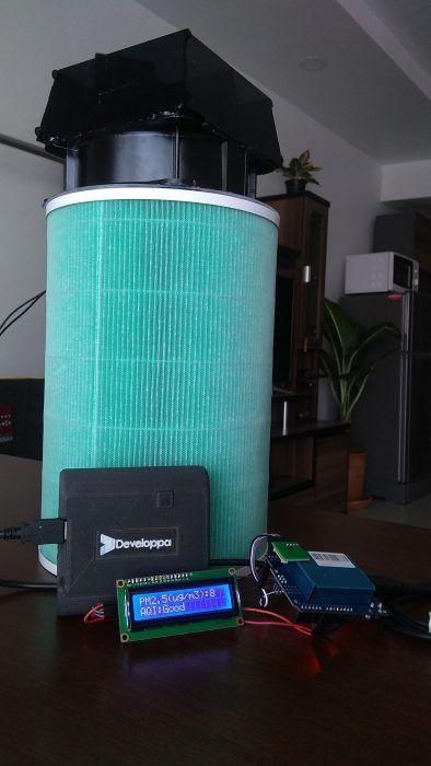 Make your own air purifier and AQI sensor - Developpa