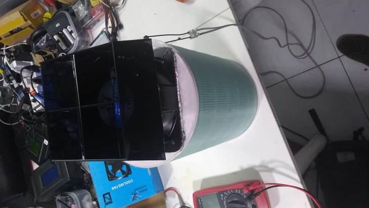 air purifier assembly 4