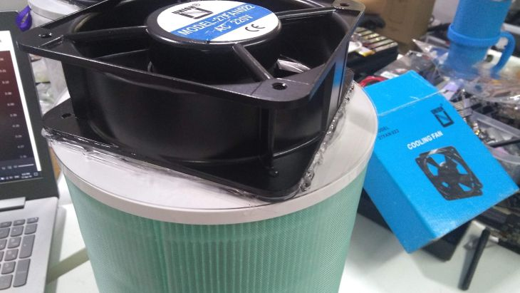air purifier assembly 2