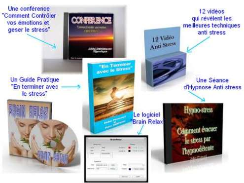 programme complet pack anti stress