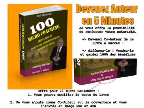 devenir co-auteur livre coaching