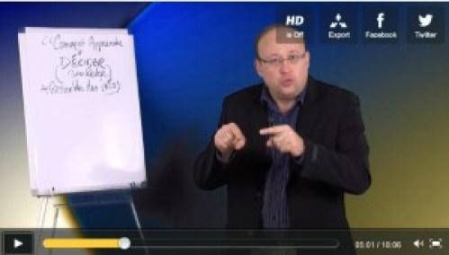 Didier Pénissard, coach explique de manière pédagogique comment apprendre à décider en confiance