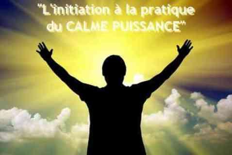 initiation à la pratique du calme puissance