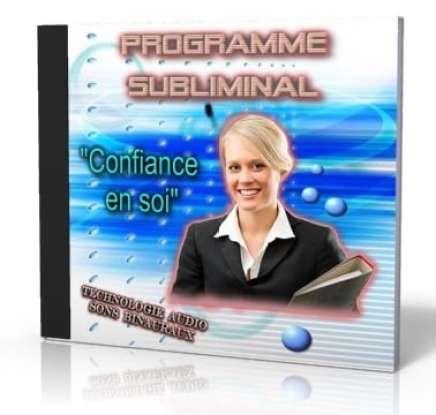 """CD subliminal confiance en soi Manque de confiance ? Cette solution basée par des sons binauraux et subliminaux peut vous libérer"""" CD Subliminal confiance en soi"""