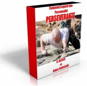 Programme persévérance et développer la ténacité