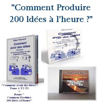 Comment avoir des idées, programme de développement créatif