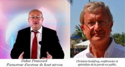 Didier Pénissard et Christian Godefroy révèlent leurs secrets pour prendre la parole à l'improviste