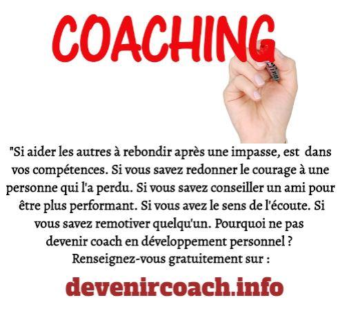 Marché du coaching